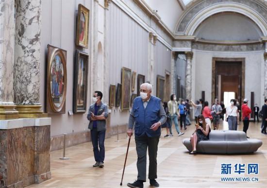 (国际疫情)(8)法国卢浮宫重新开门迎客