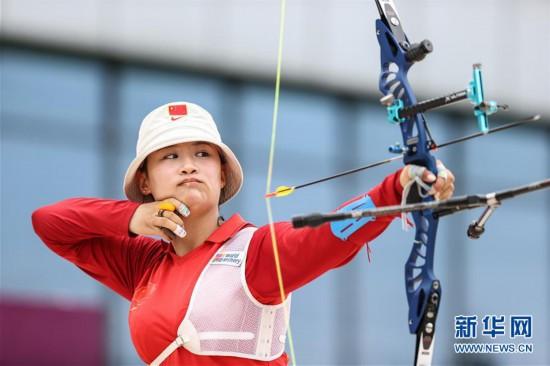 (体育)(5)射箭――模拟比拼备战东京  射箭项目南京开赛