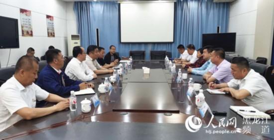 黑龙江航运集团与中煤龙化开展合作洽谈协力打造煤炭储运基地和销售全物流链