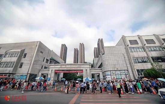 沈阳7日四万考生参加高考