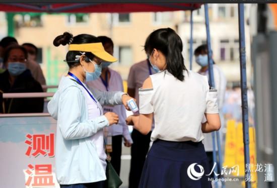 黑龙江省18.3万考生赴考