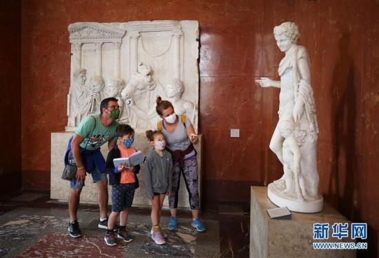 (国际疫情)(3)法国卢浮宫重新开门迎客