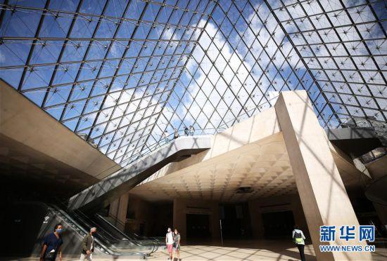 (国际疫情)(6)法国卢浮宫重新开门迎客