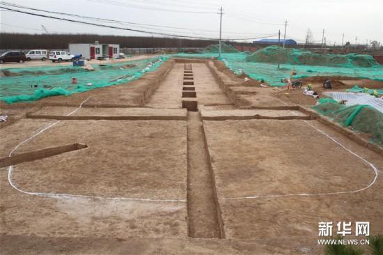 (图文互动)(2)陕西西咸新区发现隋代王韶家族墓园