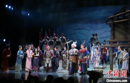 广西原创民族歌剧《大汉海路》首次全幕展演