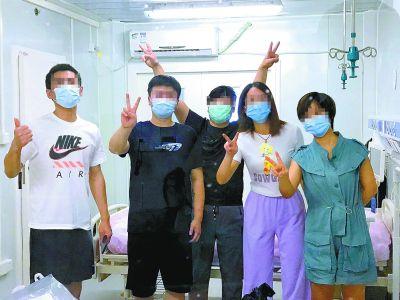 7日13名确诊患者治愈出院