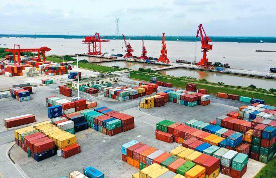 铜陵长江外贸码头吞吐量增长三倍多