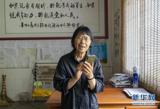 (图片故事)(1)忙碌的张桂梅校长