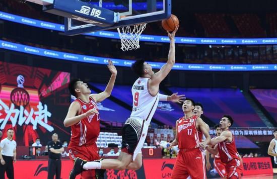 (體育)(3)籃球——CBA復賽第二階段:青島國信雙星勝深圳馬可波羅