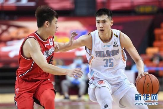 (体育)(3)篮球――CBA复赛第二阶段:新疆伊力特胜深圳马可波罗