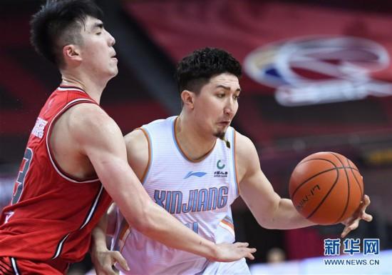 (体育)(2)篮球――CBA复赛第二阶段:新疆伊力特胜深圳马可波罗