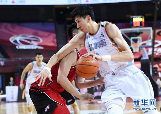 (体育)(6)篮球――CBA复赛第二阶段:新疆伊力特胜深圳马可波罗