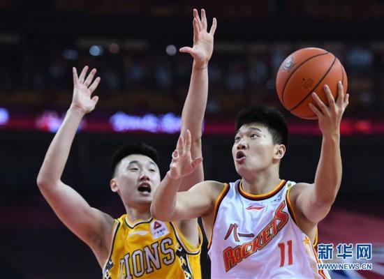 (体育)(6)篮球――CBA复赛第二阶段:八一南昌不敌浙江广厦控股