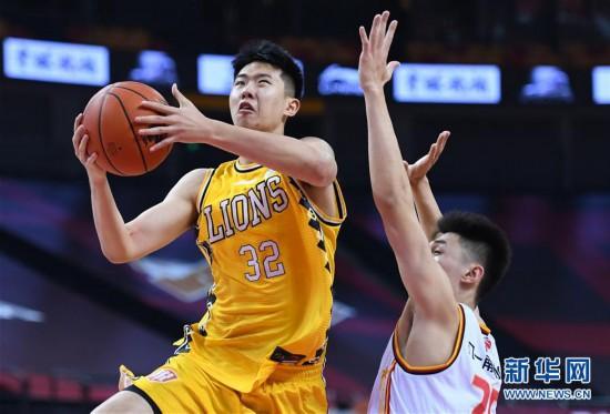 (体育)(7)篮球――CBA复赛第二阶段:浙江广厦控股胜八一南昌