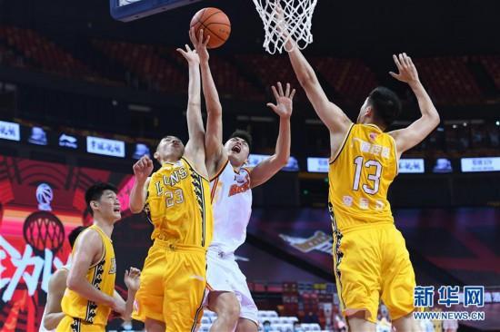 (体育)(1)篮球――CBA复赛第二阶段:浙江广厦控股胜八一南昌