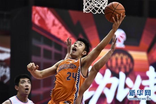 (體育)(1)籃球——CBA復賽第二階段:上海久事勝四川五糧金樽