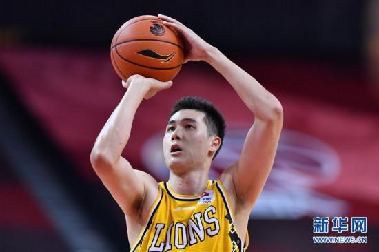 (体育)(4)篮球――CBA复赛第二阶段:浙江广厦控股胜八一南昌