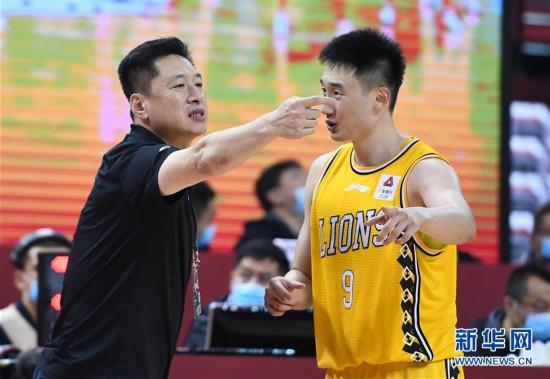 (体育)(10)篮球――CBA复赛第二阶段:浙江广厦控股胜八一南昌