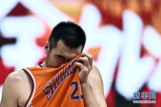 (体育)(9)篮球――CBA复赛第二阶段:上海久事胜四川五粮金樽