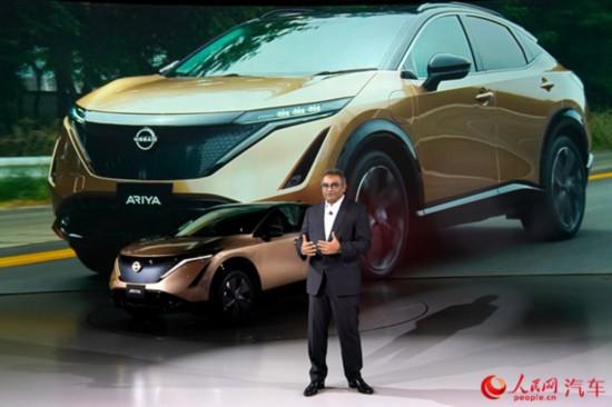 日产发布全新纯电动车型Ariya  计划2021年登陆中国市场