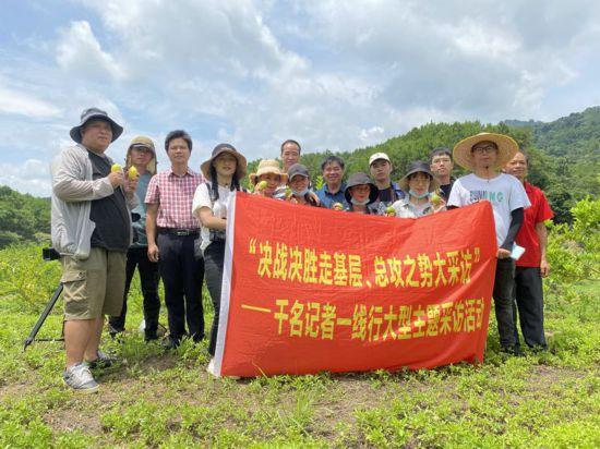 区市媒体记者到宁明县开展大型主题采访活动