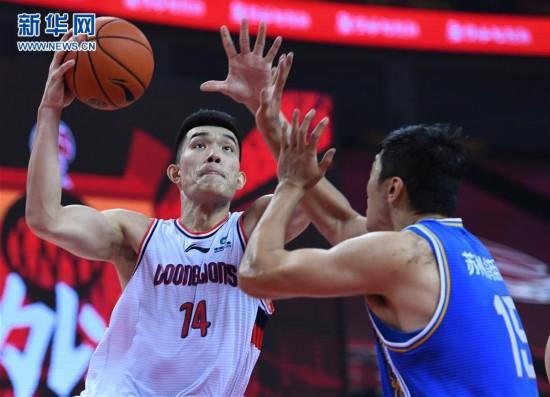 (体育)(4)篮球――CBA复赛第二阶段:时代中国广州胜苏州肯帝亚