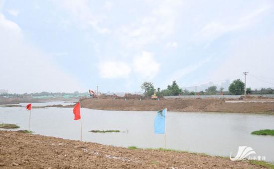 徐州贾汪解忧湖城市公园项目有序推进