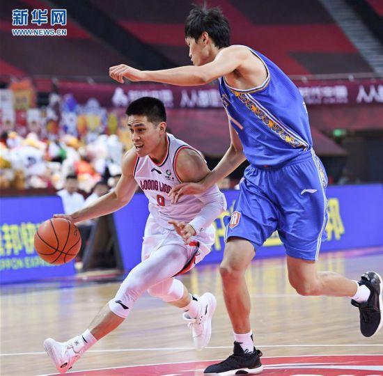 (体育)(1)篮球――CBA复赛第二阶段:时代中国广州对阵苏州肯帝亚