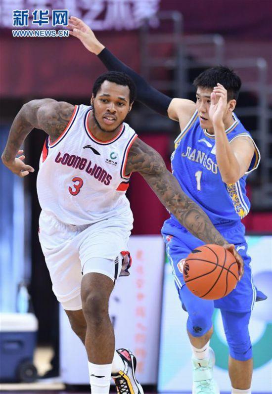 (体育)(4)篮球――CBA复赛第二阶段:时代中国广州对阵苏州肯帝亚