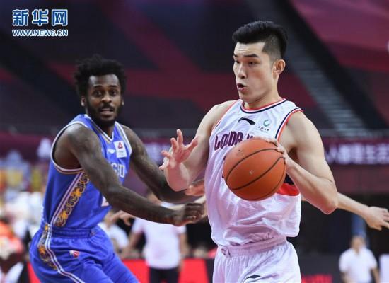 (体育)(3)篮球――CBA复赛第二阶段:时代中国广州对阵苏州肯帝亚