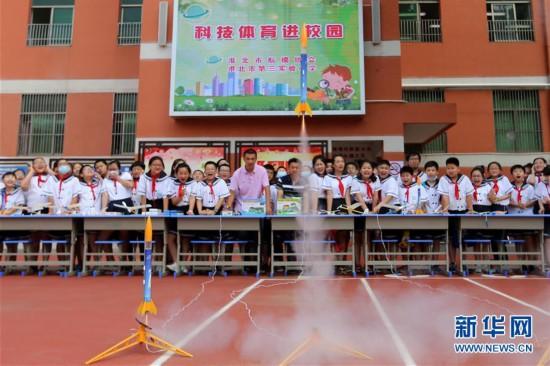 #(教育)(1)安徽淮北:航模進校園  快樂度暑假