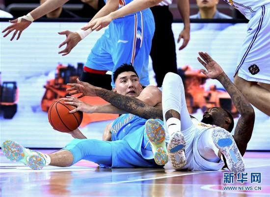 (体育)(6)篮球――CBA复赛第二阶段:新疆伊力特胜北京控股