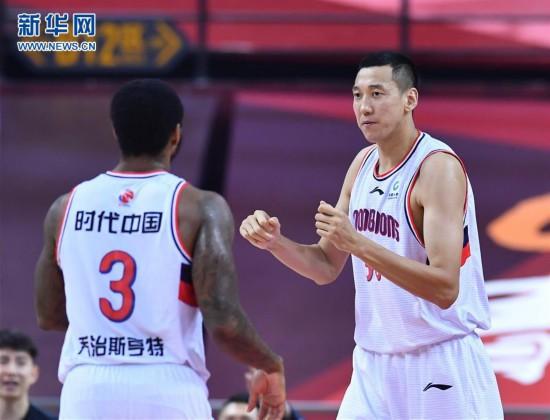(体育)(3)篮球――CBA复赛第二阶段:时代中国广州胜苏州肯帝亚