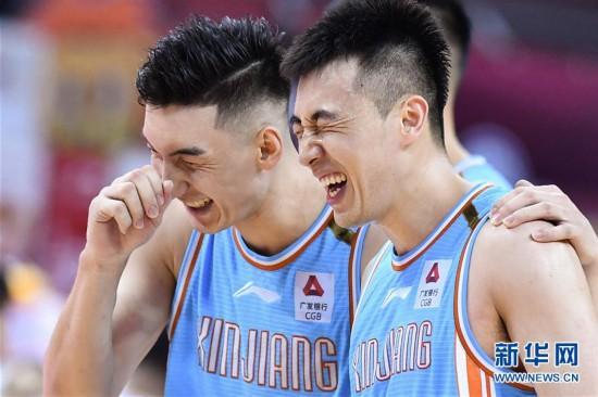 (体育)(13)篮球――CBA复赛第二阶段:新疆伊力特胜北京控股