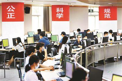 北京市高考评卷媒体开放日举行