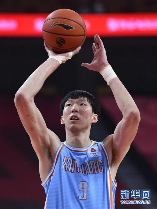 (体育)(9)篮球――CBA复赛第二阶段:新疆伊力特胜北京控股