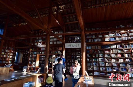 福建永泰:新乡村生活美学馆吸引民众