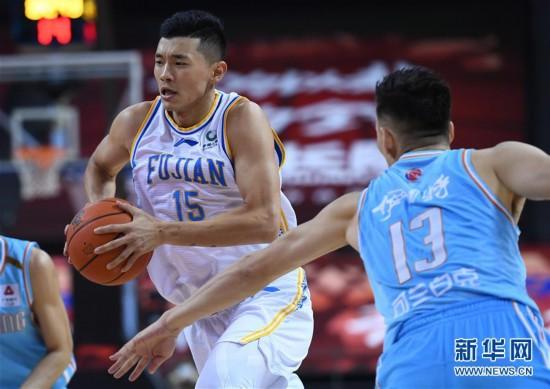 (体育)(10)篮球――CBA复赛第二阶段:福建豹发力对阵新疆伊力特