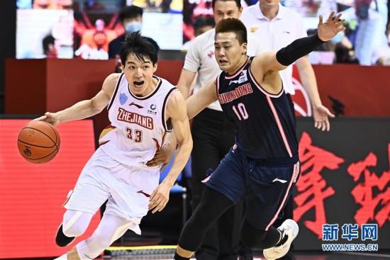 (体育)(7)篮球――CBA复赛第二阶段:浙江稠州银行迎战广东东莞银行