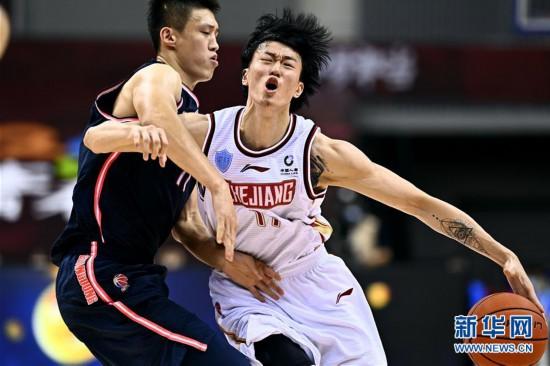 (体育)(10)篮球――CBA复赛第二阶段:浙江稠州银行迎战广东东莞银行