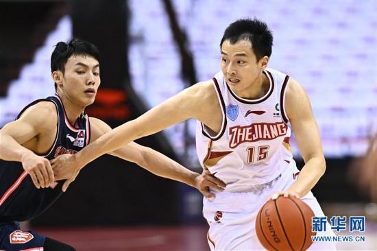 (体育)(9)篮球――CBA复赛第二阶段:浙江稠州银行迎战广东东莞银行