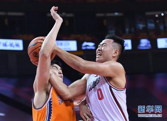 (体育)(4)篮球――CBA复赛第二阶段:深圳马可波罗对阵上海久事