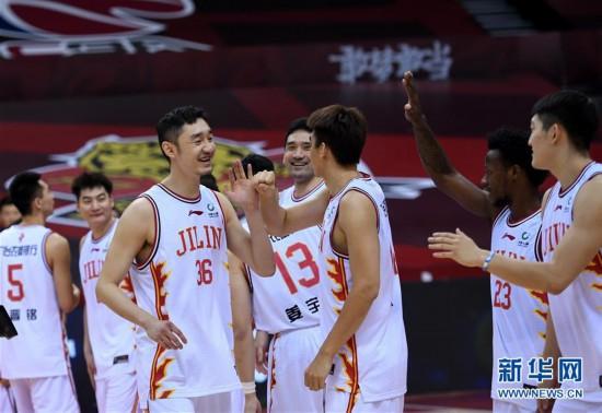 (体育)(3)篮球――CBA复赛第二阶段:吉林九台农商银行迎战时代中国广州