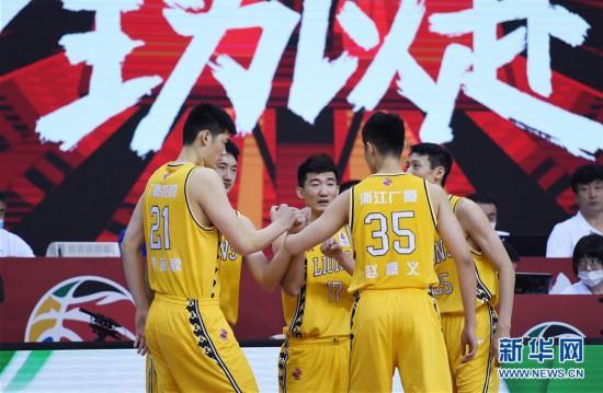 (體育)(14)籃球——CBA復賽第二階段:天津先行者迎戰浙江廣廈控股