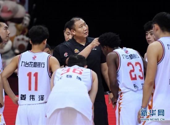 (体育)(13)篮球――CBA复赛第二阶段:吉林九台农商银行迎战时代中国广州