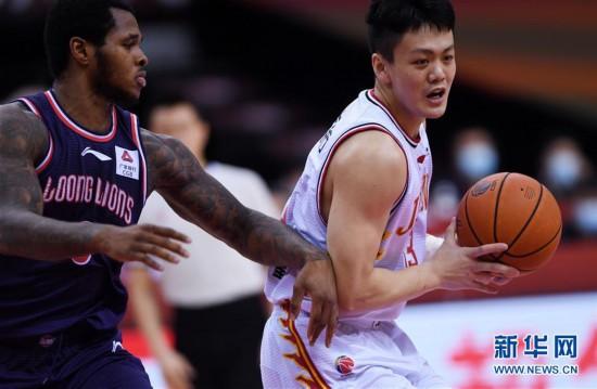 (体育)(2)篮球――CBA复赛第二阶段:吉林九台农商银行迎战时代中国广州