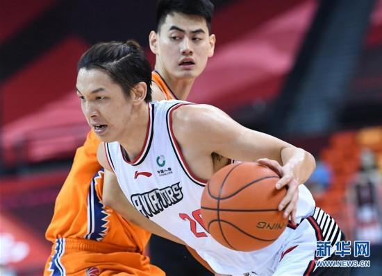 (体育)(9)篮球――CBA复赛第二阶段:深圳马可波罗对阵上海久事
