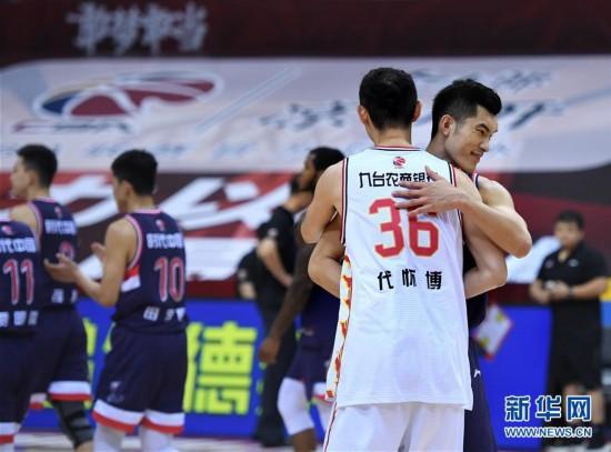 (体育)(12)篮球――CBA复赛第二阶段:吉林九台农商银行迎战时代中国广州