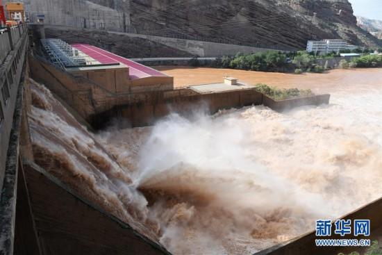 (防汛抗洪)(1)黄河上游多个水库加大下泄流量确保安全度汛