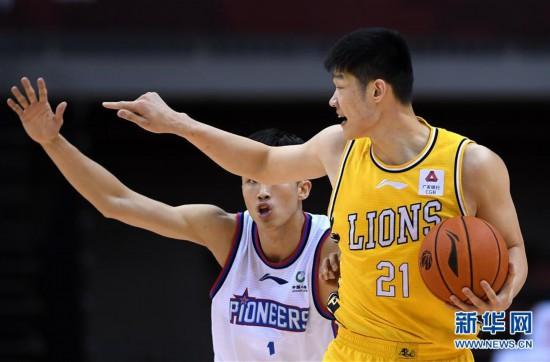 (體育)(7)籃球——CBA復賽第二階段:天津先行者迎戰浙江廣廈控股